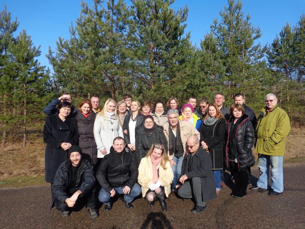 I Spotkanie dotyczące budowy federacji organizacji pozarządowych miasta Suwałki, 22-23 lutego 2014 r.