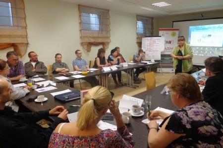 II spotkanie dotyczące budowy Suwalskiej Federacji Organizacji Pozarządowych RAZEM