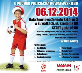 IV Mikołajkowy Turniej Piłki Nożnej o Puchar Wojciecha Kowalewskiego