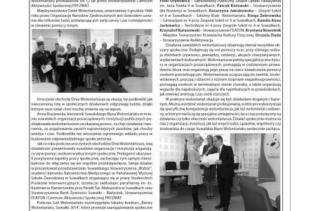 Gala Wolontariatu w DwuTygodniku Suwalskim