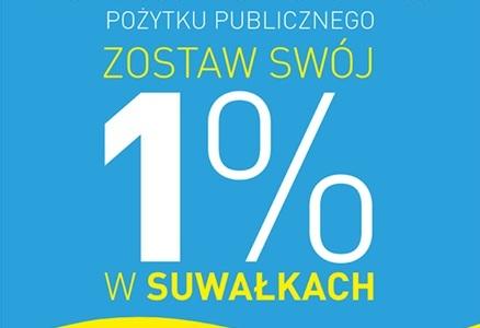 Zostaw swój 1% w Suwałkach