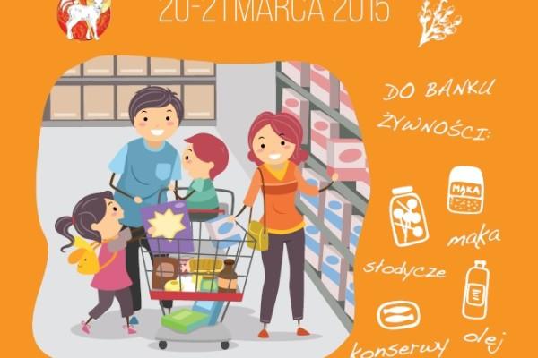 Wielkanocna Zbiórka Żywności w dniach 20-21.03.2015 r.