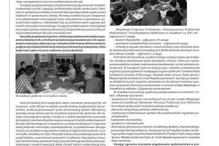 Konsultacje społeczne jako forma zaangażowania mieszkańców w decydowanie o sprawach publicznych