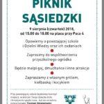 Piknik sąsiedzki Bajki i Dzielni Wiedzy